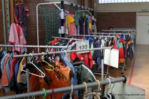 Second-Hand-Basar am 6. Oktober 2018